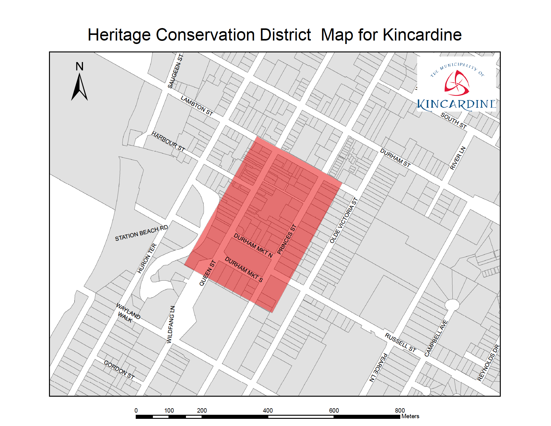 Heritage Conservation map